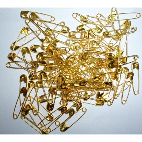 Biztosítótű arany 20 mm, 6 Ft/db (100 db/csomag)